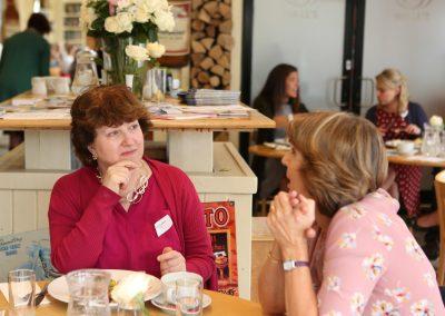 DWIB Networking Two members talking