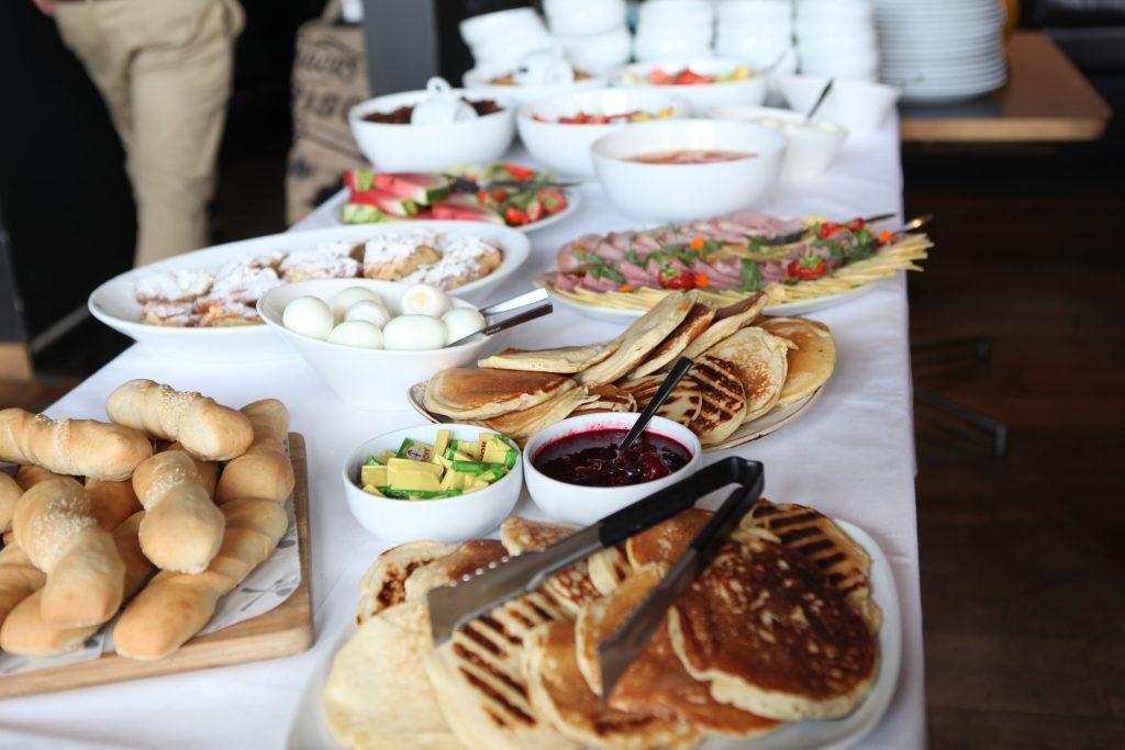 DWIB breakfast