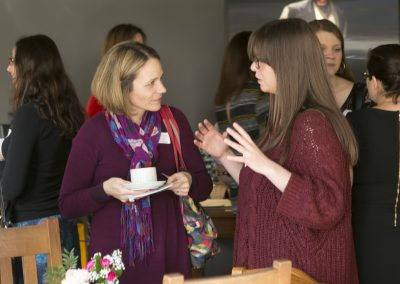 Dwib Networking Two women talking